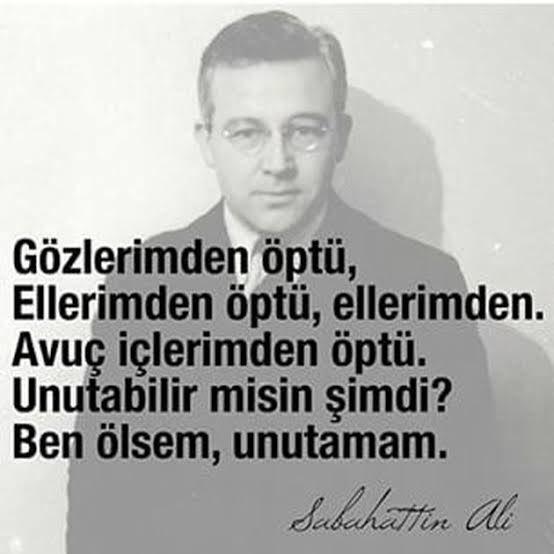 """""""Ben ölsem,unutmam"""" #SabahattinAli #şair #şiir https://t.co/EDXQfxfEw6"""