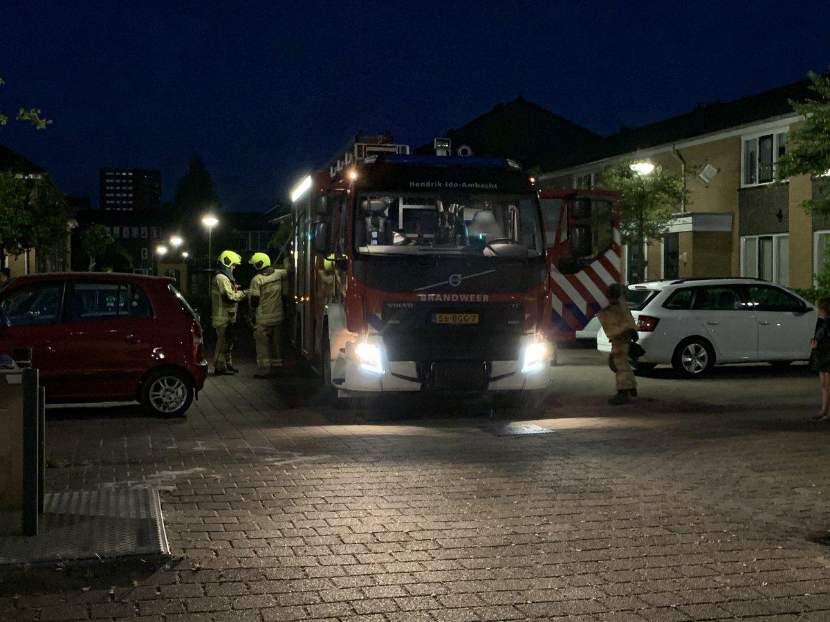 Melding brandweer Dadelgaarde Hendrik-Ido-Ambacht