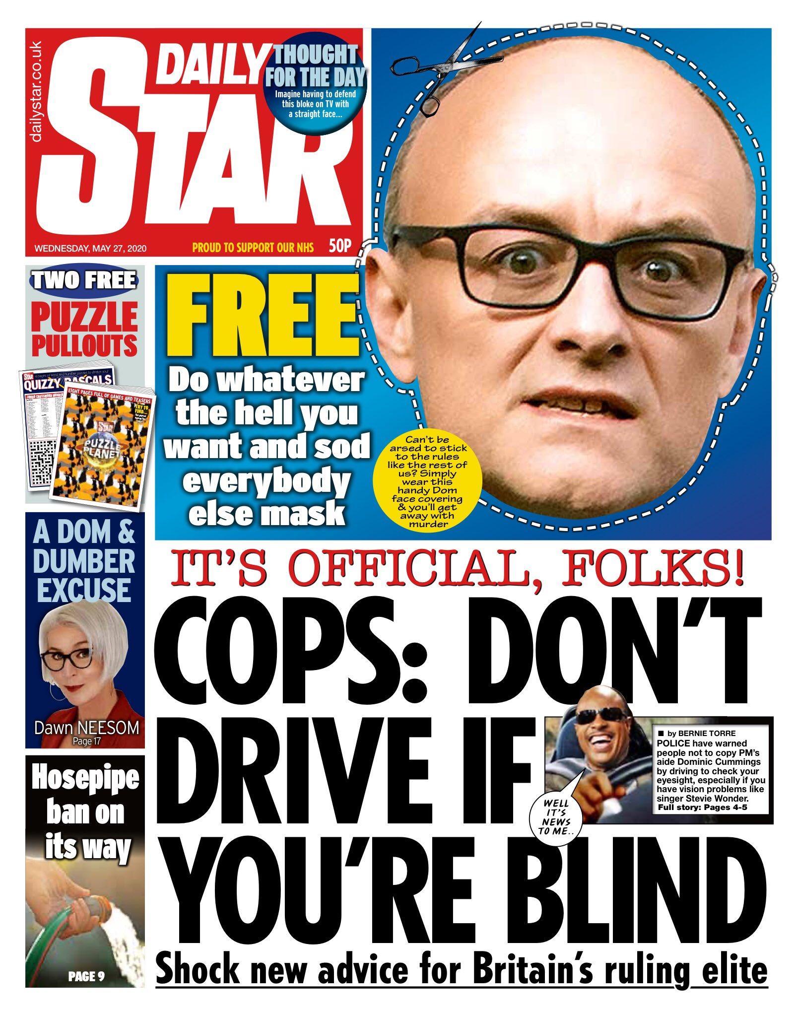 Newspaper Daily Star (United Kingdom). Newspapers in