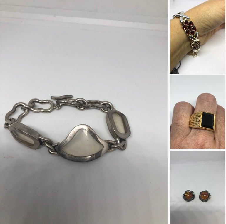 Vintage 925 Sterling SilverChain Link Charm  #jewelry #bracelet @EtsyMktgTool