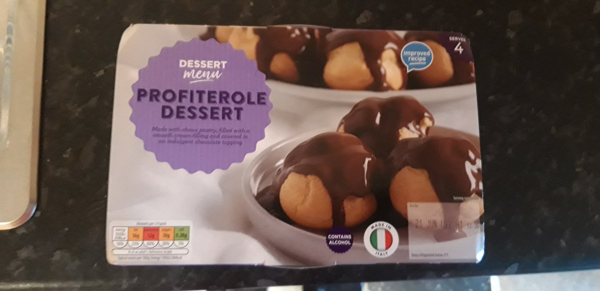 Oh @AldiUK how little you know me and my profiterole demolishing ability. Serves 4? I'll eat them all in one breath. https://t.co/pLZqXtk3dk