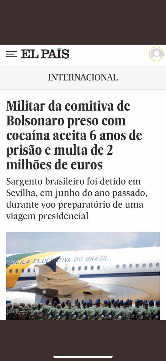 Quem paga a milionária multa do carregador de cocaína no avião presidencial?