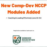 Image for the Tweet beginning: A new Comp-Dev #NCCP module