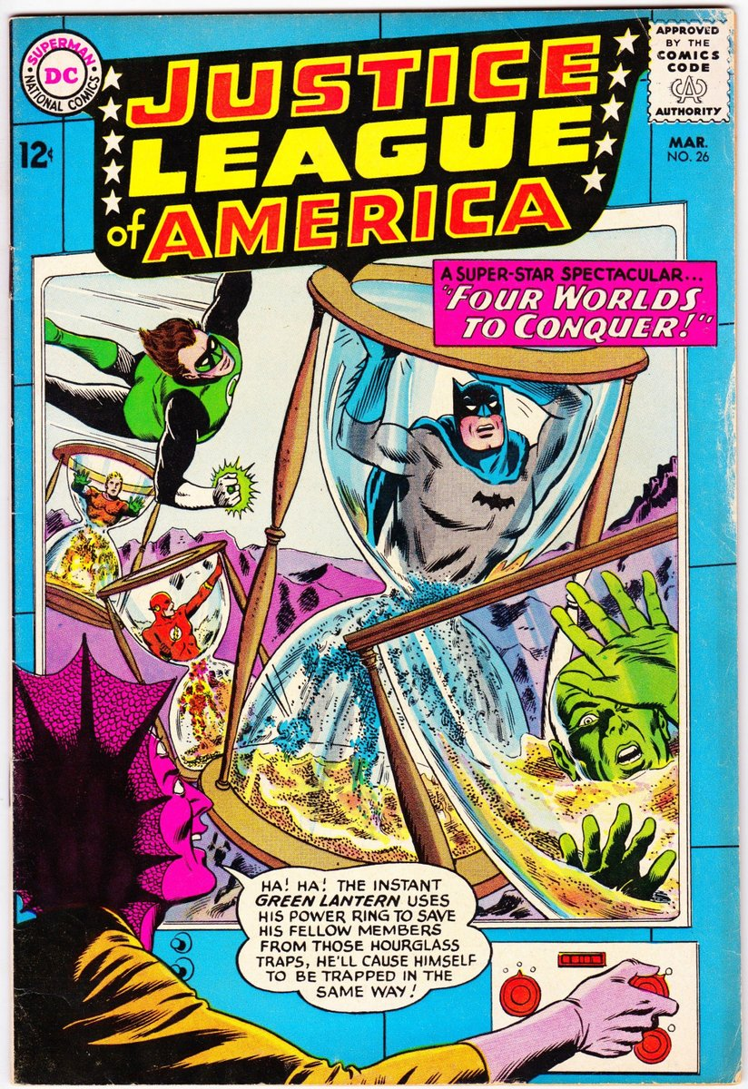 Excited to share the latest addition to my #etsy shop: Justice League of America #26 (1st Series 1960) March 1964 DC Comics Grade Fine+ https://etsy.me/2XLw3YD #superherocomics #dccomics #justiceleague #vintagecomicbooks #collectiblecomics #collectorcomics #collectiblepic.twitter.com/KgT2rCp21z