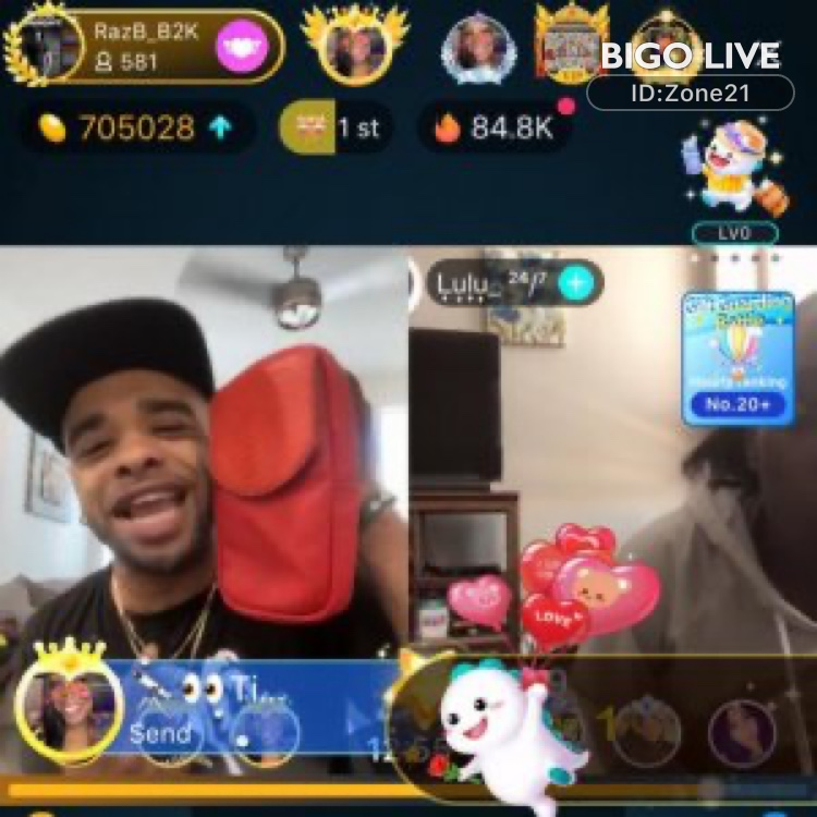 Come and see 🎒𝒁🚭𝑵𝑬🎒's LIVE in #BIGOLIVE: #music  🎒🔥Share 🔥🎒
