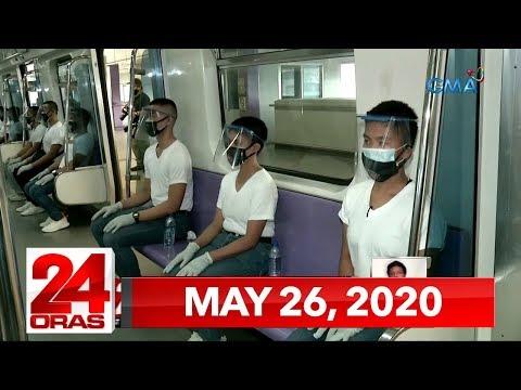 VIDEO: 24 Oras Express: May 26, 2020 [HD] bit.ly/2A9SX3G