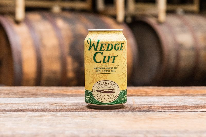 Whether you're slicing lemons, a golf ball, or the end of a cigar, Wedge Cut's addition of lemon peel and Lemon Drop hops add refreshing complexity to the beer's effervescent body, herbal hop flavor, and cracker-like maltiness. https://t.co/xJ4hguqwKe