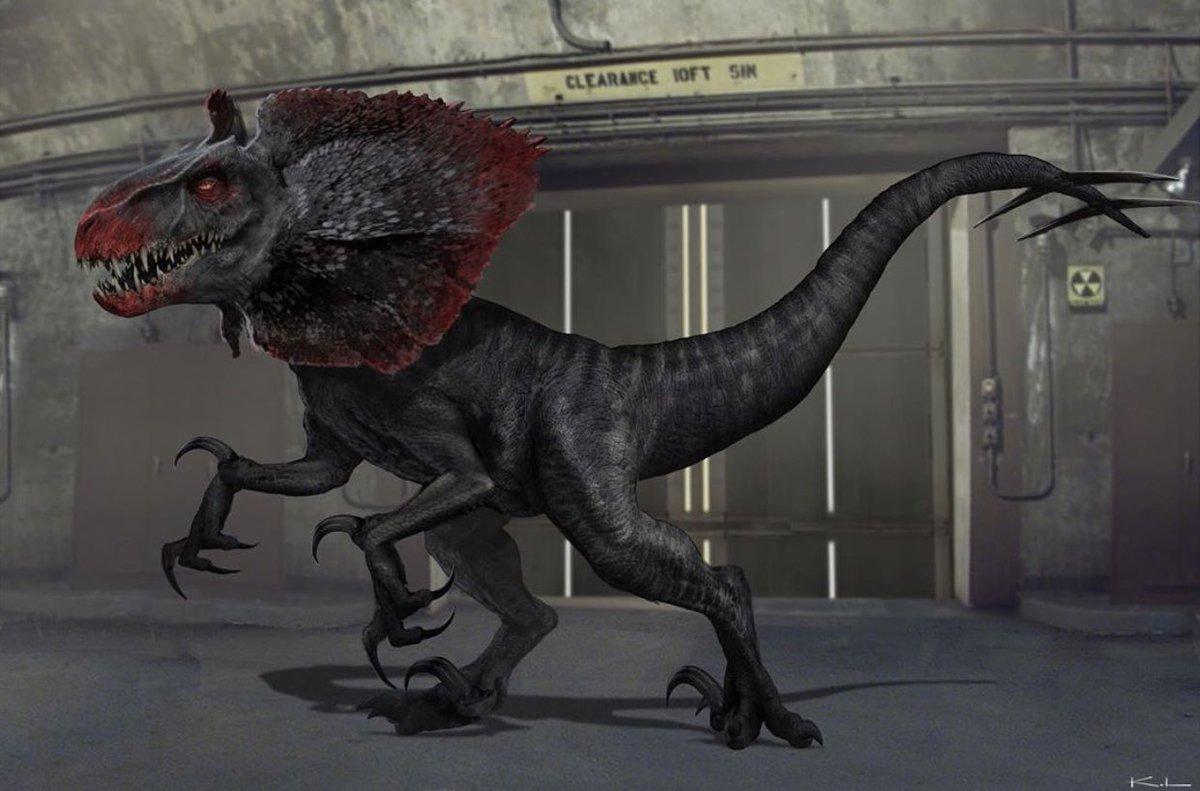 Early Indoraptor Concept Art From JWFK Were WILD!  • Artwork By: Karl.Lindberg On Instagram. <br>http://pic.twitter.com/jO38ji1ppq