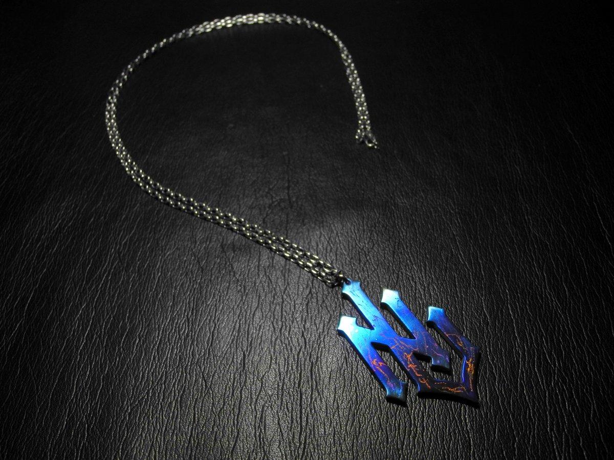 #nolimitryderz  #titanium #titaniumjewelry  #pendant #necklace #accessory #blue #handwork #handmaid #ノーリミットライダース #チタン #ペンダント #アクセサリー  #アクセサリー好き #アクセ好き #はんどめいど #ハンドメイド #金属アレルギーレス