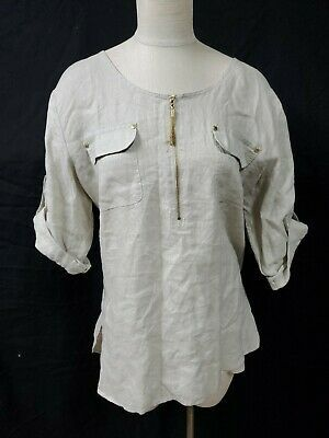 https://www.ebay.com/itm/Ellen-Tracy-Beige-Tunic-Shirt-Size-XL-Scoop-Neck-1-4-Zip-Roll-Tab-Sleeve-Pocket/193330630496?hash=item2d03674f60:g:En8AAOSwvXZczE2W… #ellentracy #tunic #womanstunic #womanswear #ebay #ebaystorepic.twitter.com/VZ4aJXwx8I