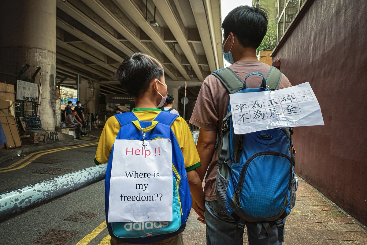 #HongKongers, this image is why I ❤️#HongKong  why I #StandwithHK   and why I will always fight for the rights of #HongKongers https://t.co/VRVAAwn48v