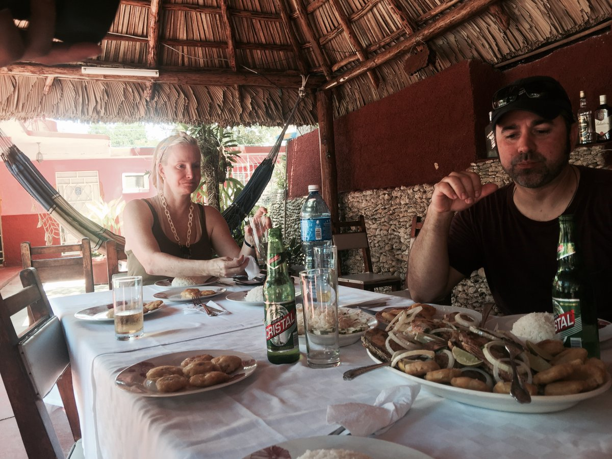 The journey through #Cuba continues on #ForbiddenFeasts. Episode 1, left us searching for Raoul, estranged friend of Mari Guas. Episode 2 airs at 12PM, tomorrow on @youtube - w/ an emotional reunion of Mari & Raoul and an unforgettable feast at an abandoned hotel + restaurant... https://t.co/7Yln85JbiT