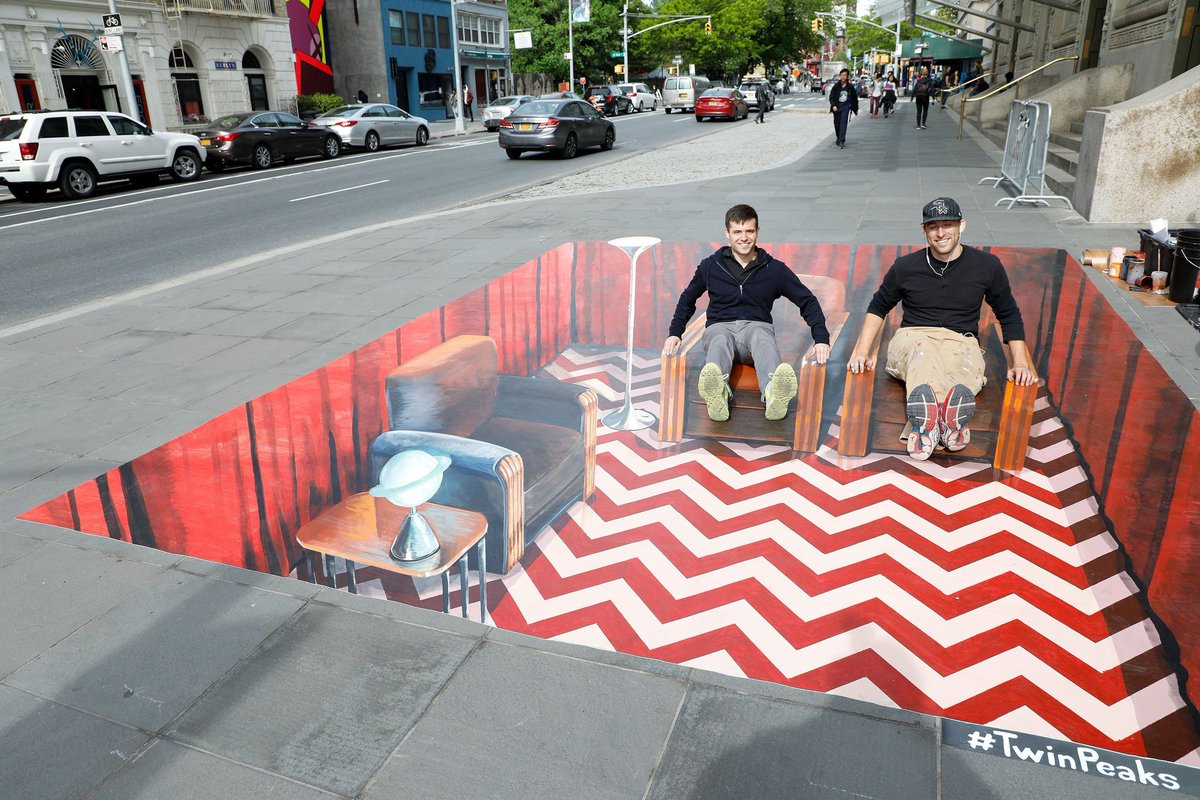"""anyone know an LA based """"3D Chalk Artist"""" that could do something like this?"""