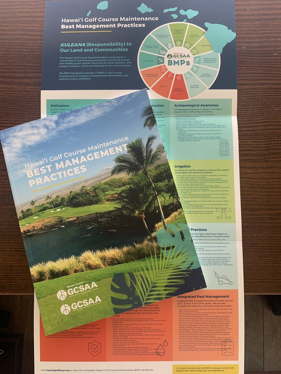 Attention HGCSA members & BMP Guide partner supporters - each county will be receiving copies of our guide - please check with your Board member or BMP Steering Committee Representative on island. Mahalo!