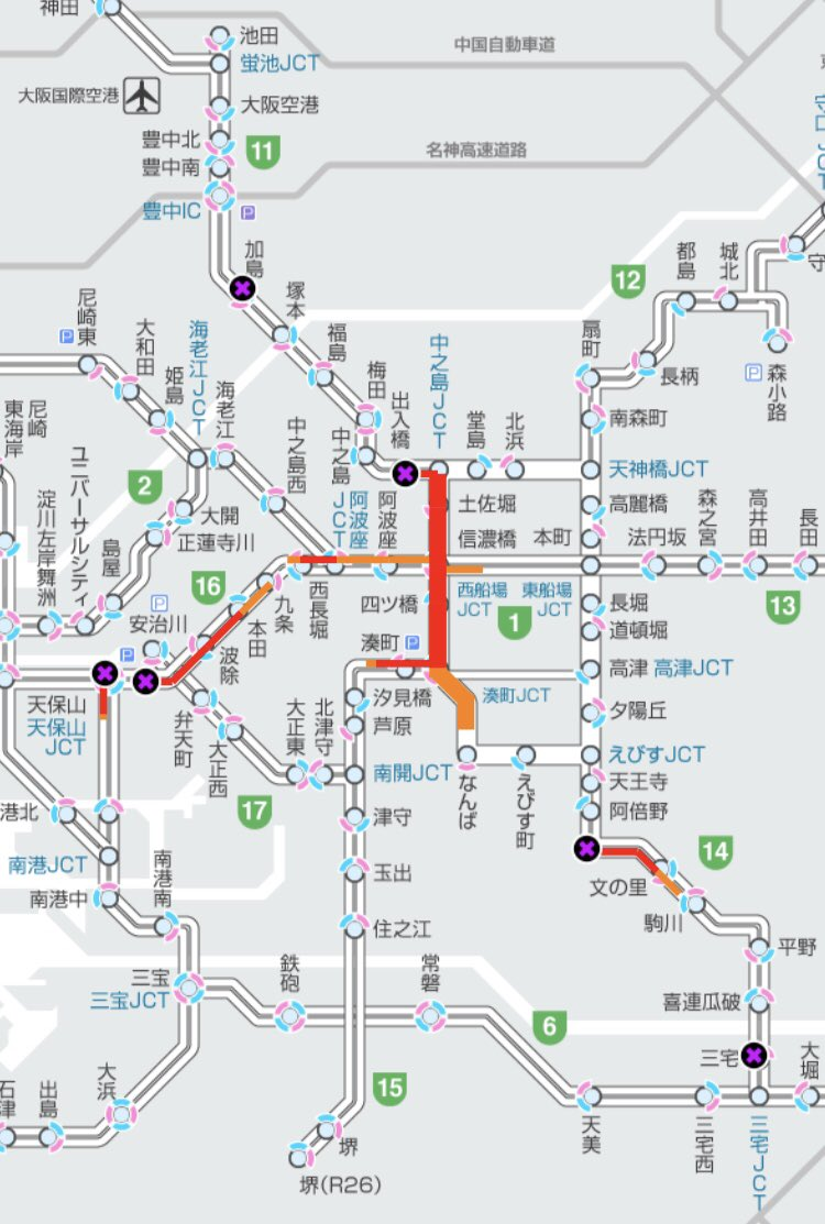 高速 状況 阪神 渋滞