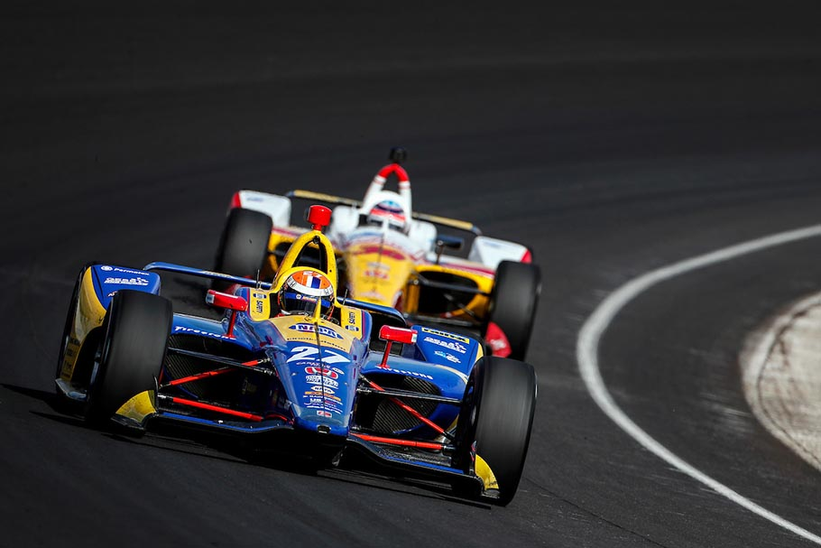 Alexander Rossi (Andretti Autosport) scored his 14th podium in #IndyCar with a 2nd place finish at Indianapolis. #OTD 2019 #Indy500 (Photo: Honda) https://t.co/xaPYVVFQvB