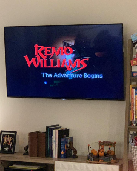 Throwing it way back to 1985 with this good old-fashioned pulpy classic today. If I had a say in what made it into the Criterion Collection, Remo Williams would be at the top of my list. #michaelcolton #remowilliams #movietime #quarantinethings #stayhome <br>http://pic.twitter.com/7RtYwXpA5w