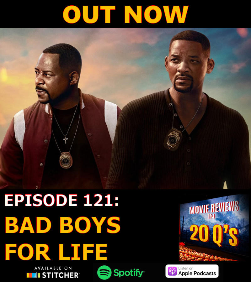 New ep! This week we threw 20 Q's at #BadBoysForLife, including:  Which one of Mike's super cop abilities would we want? Which one of the cops should have been fired a long time ago? Where the hell does the Miami police force get all their money?  Links below  #PodernFamily<br>http://pic.twitter.com/SirzTWN8jE