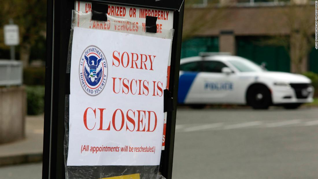 Federal immigration agency to furlough employees unless Congress provides funding cnn.it/2AYVaza