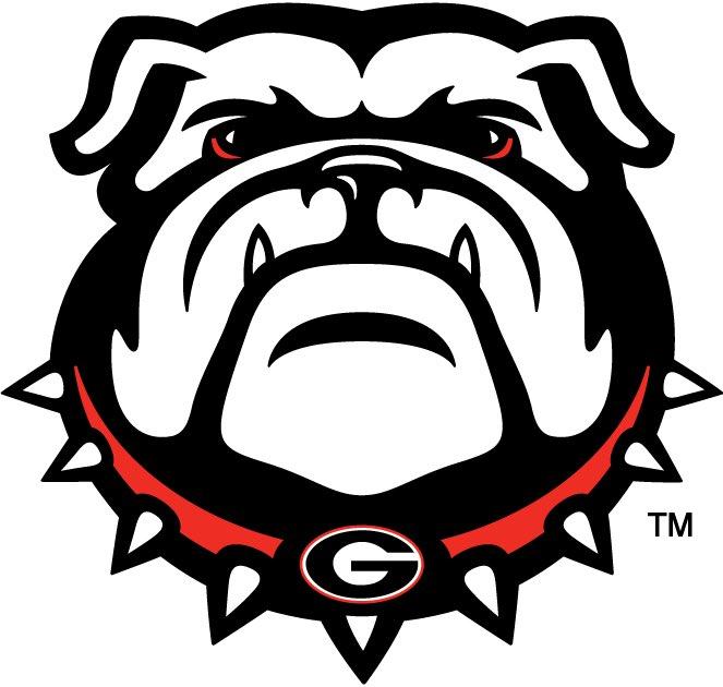 Georgia Bulldogs:  9/7 vs UVA (W) 9/12 vs East TN State (W) 9/19 @ Alabama (L) 9/26 vs ULM (W) 10/3 vs Vandy (W) 10/10 vs Auburn (L) 10/17 @ Missouri (W) 10/31 vs Florida (L) 11/7 @ South Carolina (W) 11/14 vs Tennessee (W) 11/21 @ Kentucky (W) 11/28 vs GT (W)  Record: 9-3 pic.twitter.com/Ti6BGP5reA