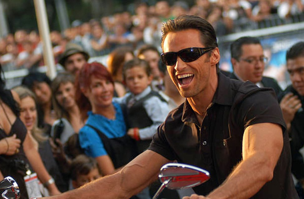 On this day in 2009, Hugh attended the Mexico City premiere of X-Men Origins: Wolverine.  He looked so fine on that motorcycle! #hughjackman #xmen #wolverine #mexicocity .   .   . : Andres Hernandez/Getty Images pic.twitter.com/3dVPsO5GaF