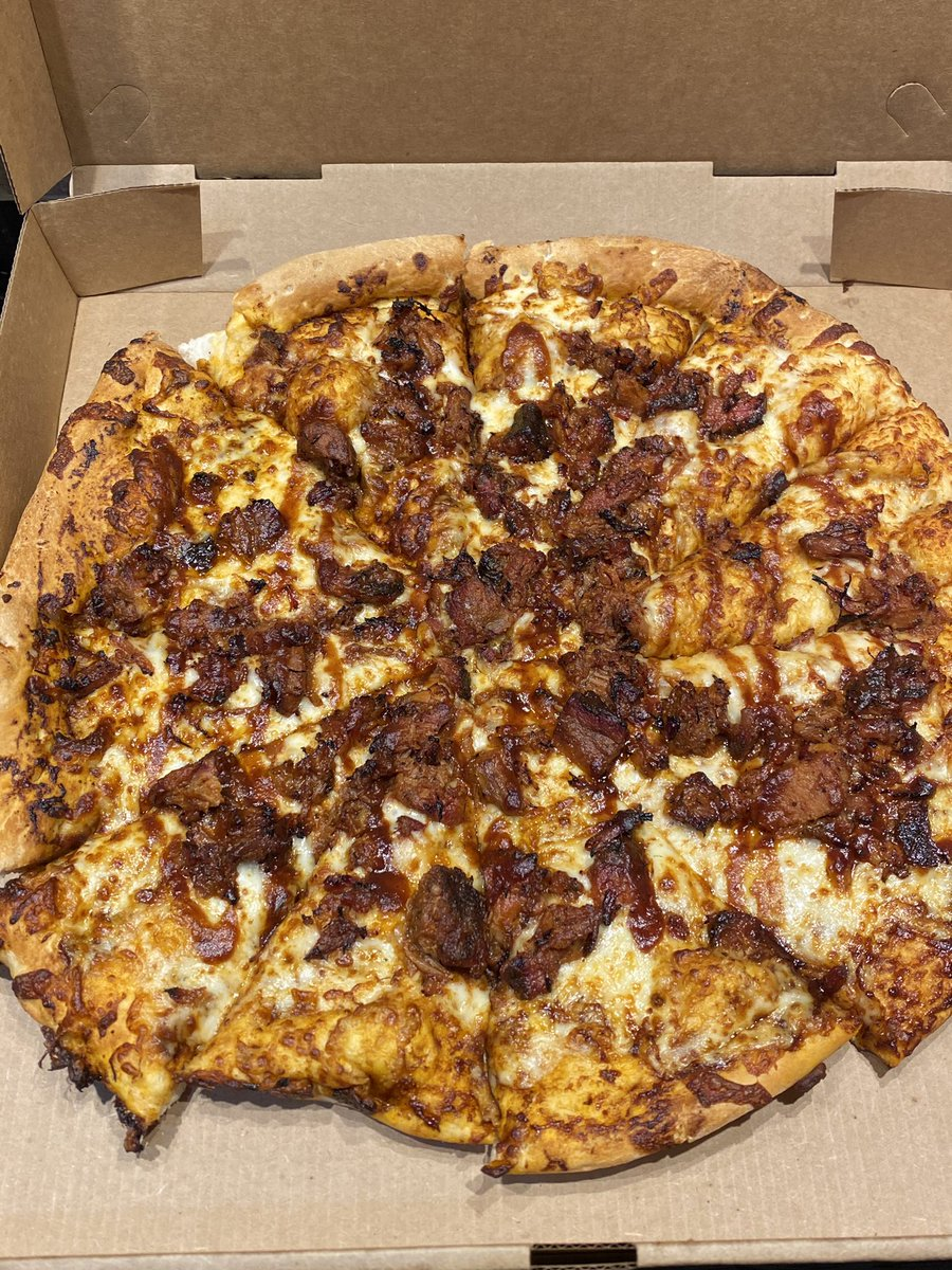 Joe's BBQ Pizza 😁 @stoolpresidente you HAVE to try this.