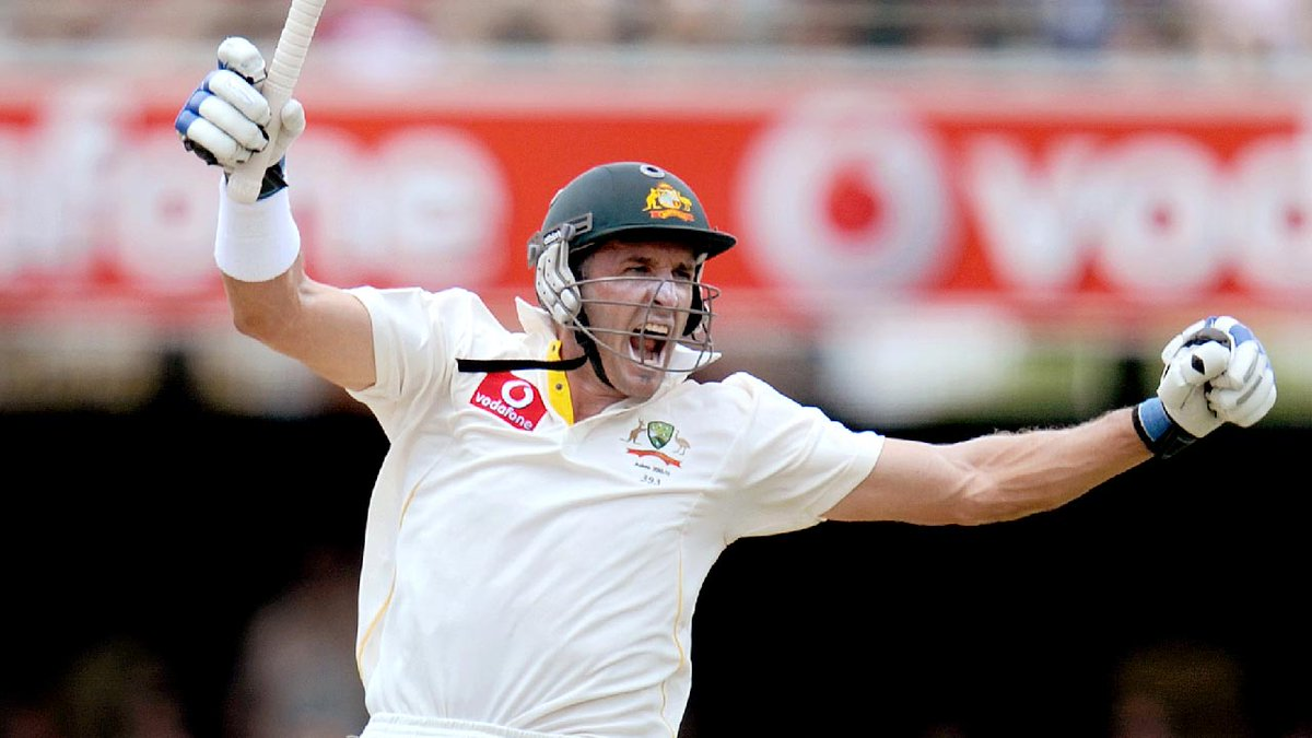 79 Tests, 19 Test tons - Mr Cricket turns 45 today! 🥳 @mhussey393 was under serious pressure on the eve of the 2010-11 Ashes, but answered the critics with an epic ton at the Gabba.