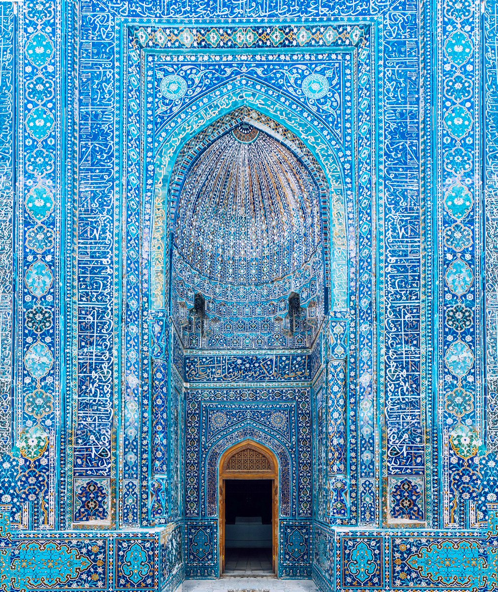 "From our Instagram this week, we shared this incredible architectural piece, shot by photographer Henry Wu in Uzbekistan: ""I've always been fascinated by the Silk Road, a network of trade routes that connected the East and West."" #passionpassport pic.twitter.com/rMRS5mJWVo"