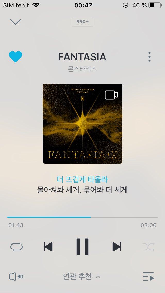 Genie playlist set for the night.  Sleep well Monbebes going to bed. And take care Monbebe who are still awake   #FANTASIA_X #MONSTA_X   @OfficialMonstaX<br>http://pic.twitter.com/fTKLfraY10