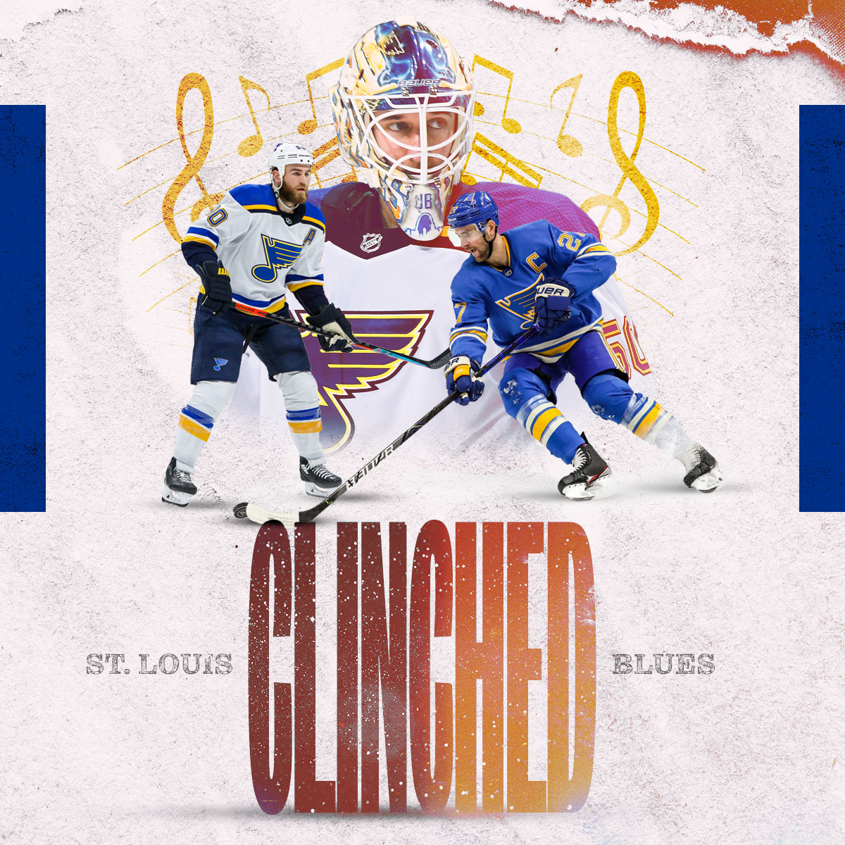 9️⃣4️⃣ points - the MOST in the Western Conference. The @StLouisBlues are headed to the 2020 Stanley Cup Playoffs and are looking for the REPEAT. 🏆 🏆 #stlblues