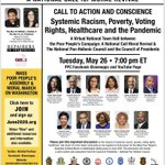 Image for the Tweet beginning: LIVE NOW: Join #PoorPeoplesCampaign co-chairs
