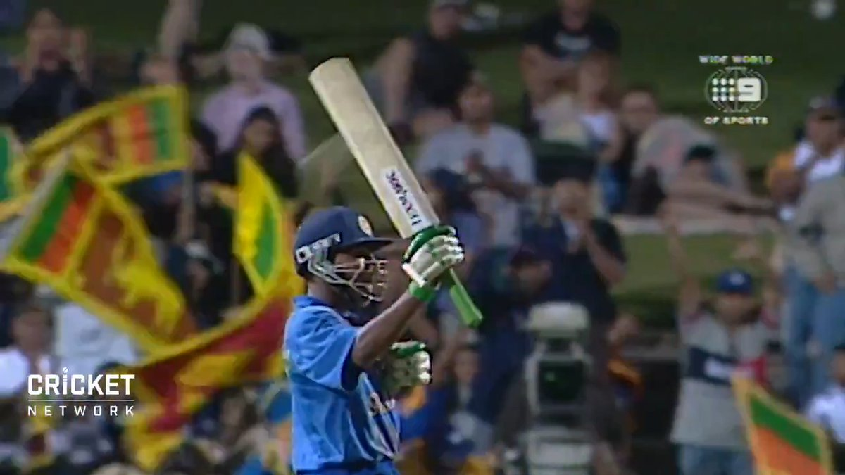 Way back in 1999, a young Mahela Jayawardene hit his first ODI century in a match-winning knock against England. Happy birthday to the Sri Lankan legend! 🎉 @MahelaJay