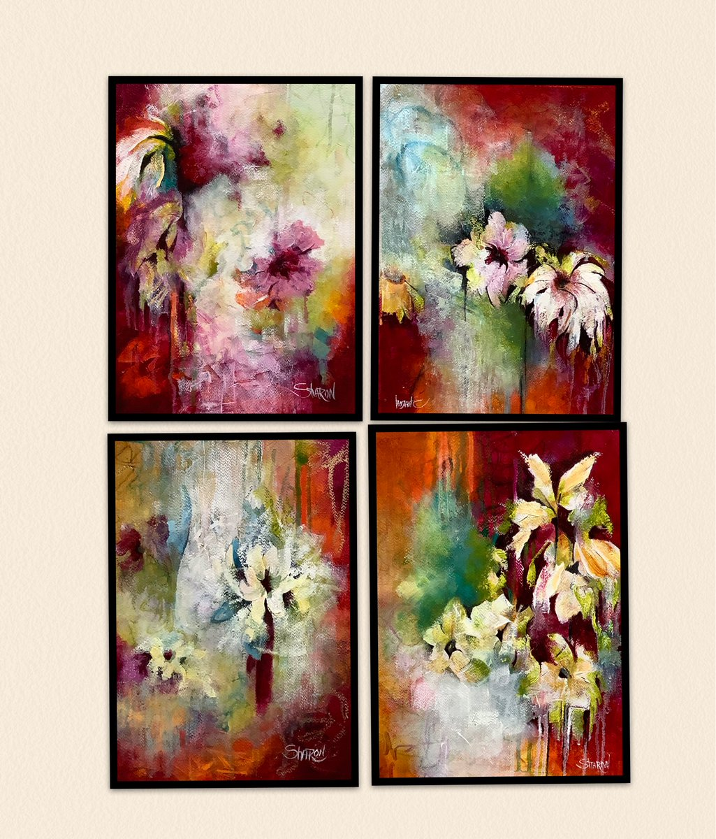 All four of these have SOLD together! I just love how the look hanging with each other!! http://www.sharongrimesart.com  #art #artist #fineart #abstractart #abstractpainting #artlovers #artcollectors #artgalleries #artmuseums #artcurators #fineartcollectors #finearts #abstractpic.twitter.com/sHM2Pl7l8L