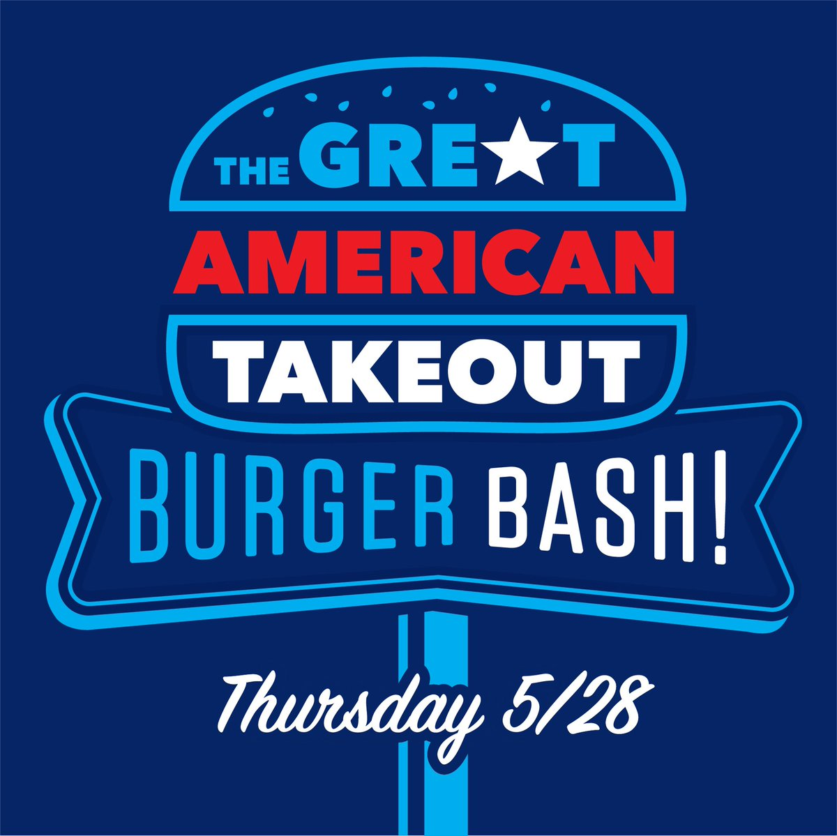 It's a beautiful day for a burger! Celebrate #NationalHamburgerDay 🍔 with us and @TheGATakeout to help support folks in the food industry. Post a shot of your Barrel Cheeseburger To-Go on May 28th, and you'll be entered to win $2600 in burger bucks! 🍔🍔🍔🍔