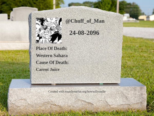 This is how and when I will die clockurl.co/key/howwillyou… ⠀