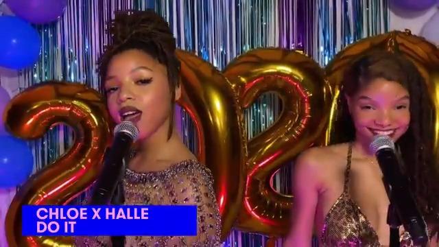 """. @chloexhalle fizeram uma performance incrível no #MTVPromathon pra celebrar os formandos de 2020! Vem ver a dupla cantando """"Do It"""""""