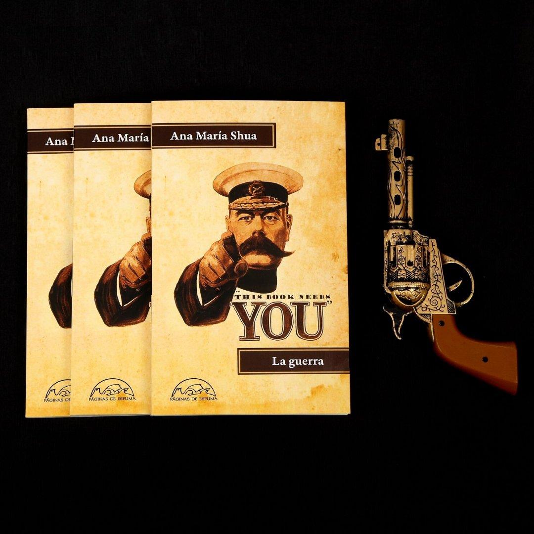 Un libro con #microrrelatos sobre lo bélico que te sorprenderá. #ElArtedelaguerra #Guerreros #Armas #Estrategias #Cuentos *Disponible y sin pagar costo de envío a toda Colombia en nuestra tienda virtual http://www.plazayjanescolombia.compic.twitter.com/XSIcfPaUpB