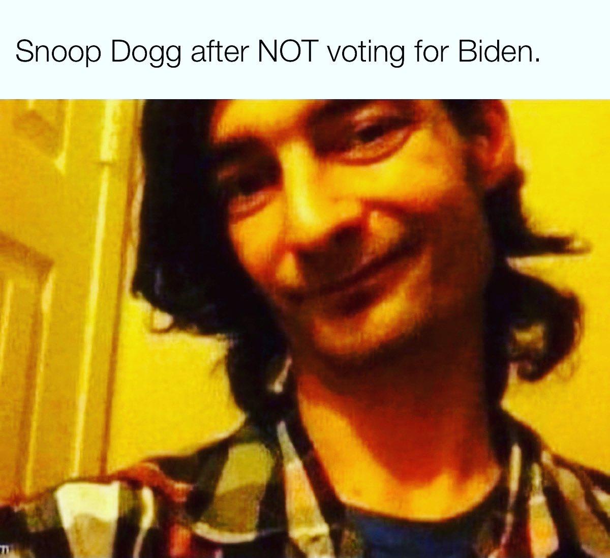 Go vote!@snoopdogg You rock Snoop! #memezlab #snoopdogg #snoopdoggmeme #joebiden #biden #bidenmemes #biden2020 #creepyjoebiden #memes #meme #dankmemes #memes#memesdaily #memepage #memer #memez #memed #memedaily #memelife #memestagram #memestar #funnymemes #funny #hiphoppic.twitter.com/9KuAwWhGEn