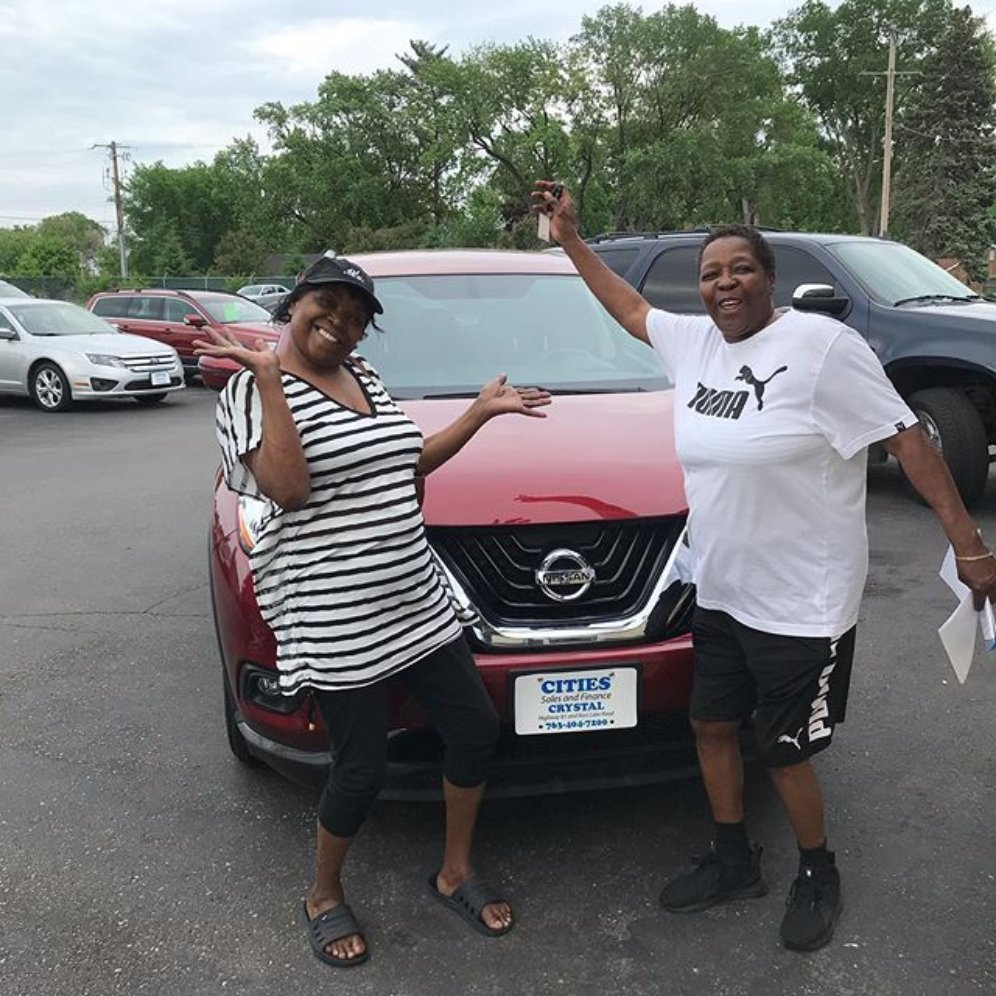"""THANKS YOU LADIES! Reposting @tomwallen1:  ... """"Sharon and Betty went partners @citiesautosales on this beautiful Murano!  WE GET IT DONE! Call or text me 612-839-5900 #tomwallen1 #citiesautosales  http:// 612rides.com    """"<br>http://pic.twitter.com/9AgMIuzZzh"""