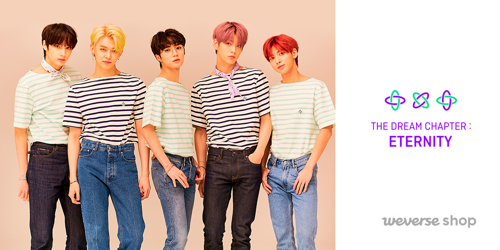 Another great news with the comeback!  TOMORROW X TOGETHER ETERNITY UNIFORM is now available on #WeverseShop from today.  Complete your daily looks with the members' styles!  GLOBAL https:// weverseshop.onelink.me/BZSY/2c82ddb8     USA https:// weverseshop.onelink.me/BZSY/720606a9     JAPAN https:// weverseshop.onelink.me/BZSY/f0096a68    <br>http://pic.twitter.com/yRyYD77nrd