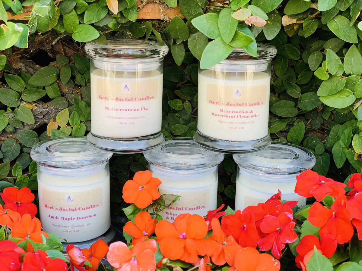 It's NEVER too much CANDLES !!!#soywax #SmallBusiness #candlelover #Charlestonsc #homedecor  #ecofriendly #reuseablejars http://kerijoyfulcandle.com pic.twitter.com/VaP7eHm7NS