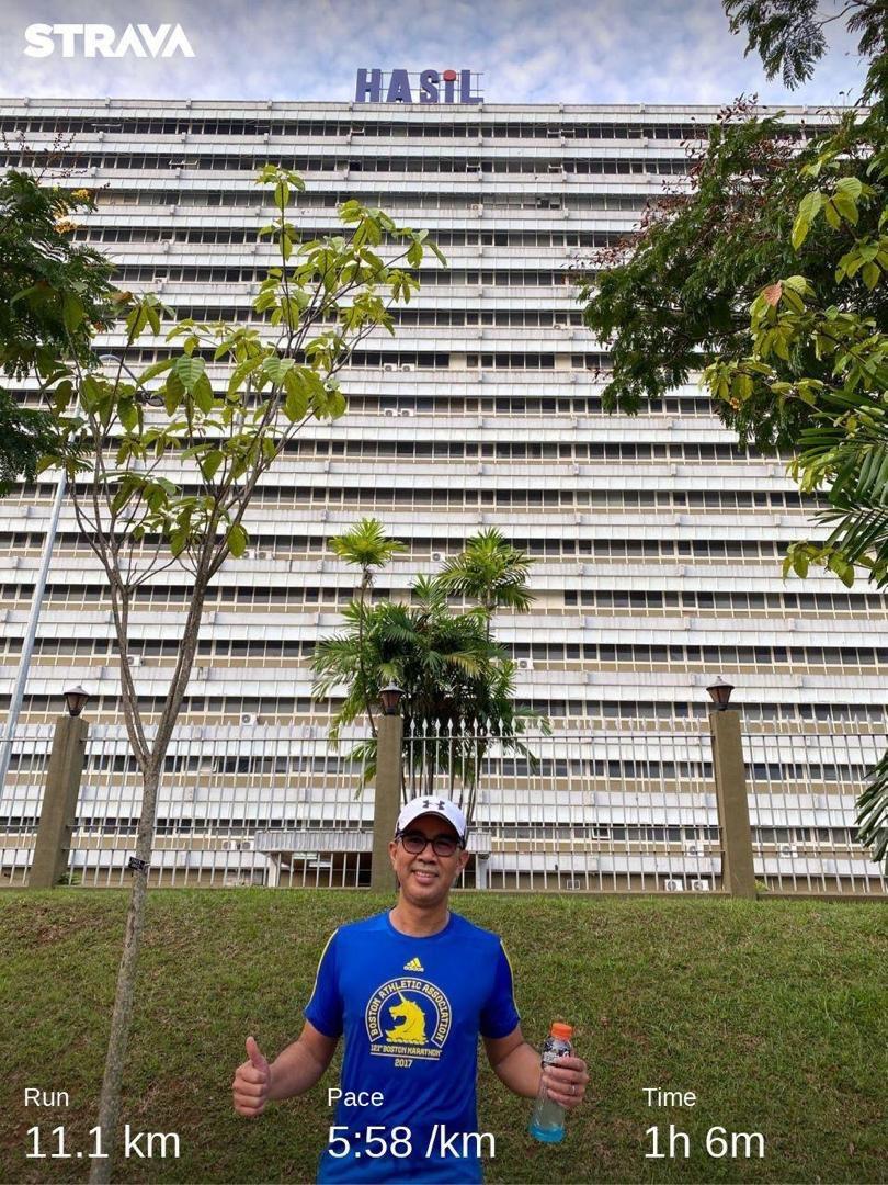 Tengku Zafrul On Twitter First Early Morning Run Outside The
