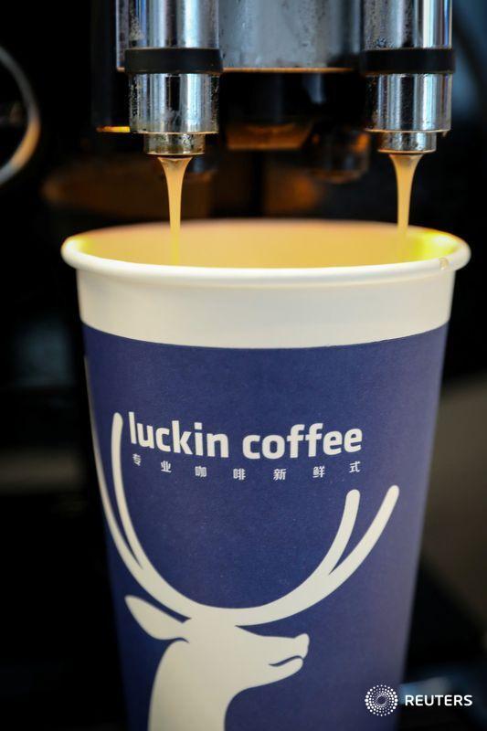 Luckin spill will get China coffee war brewing, writes @petesweeneypro: https://t.co/F9vNivd5hC. https://t.co/Dc8SyaxzjJ