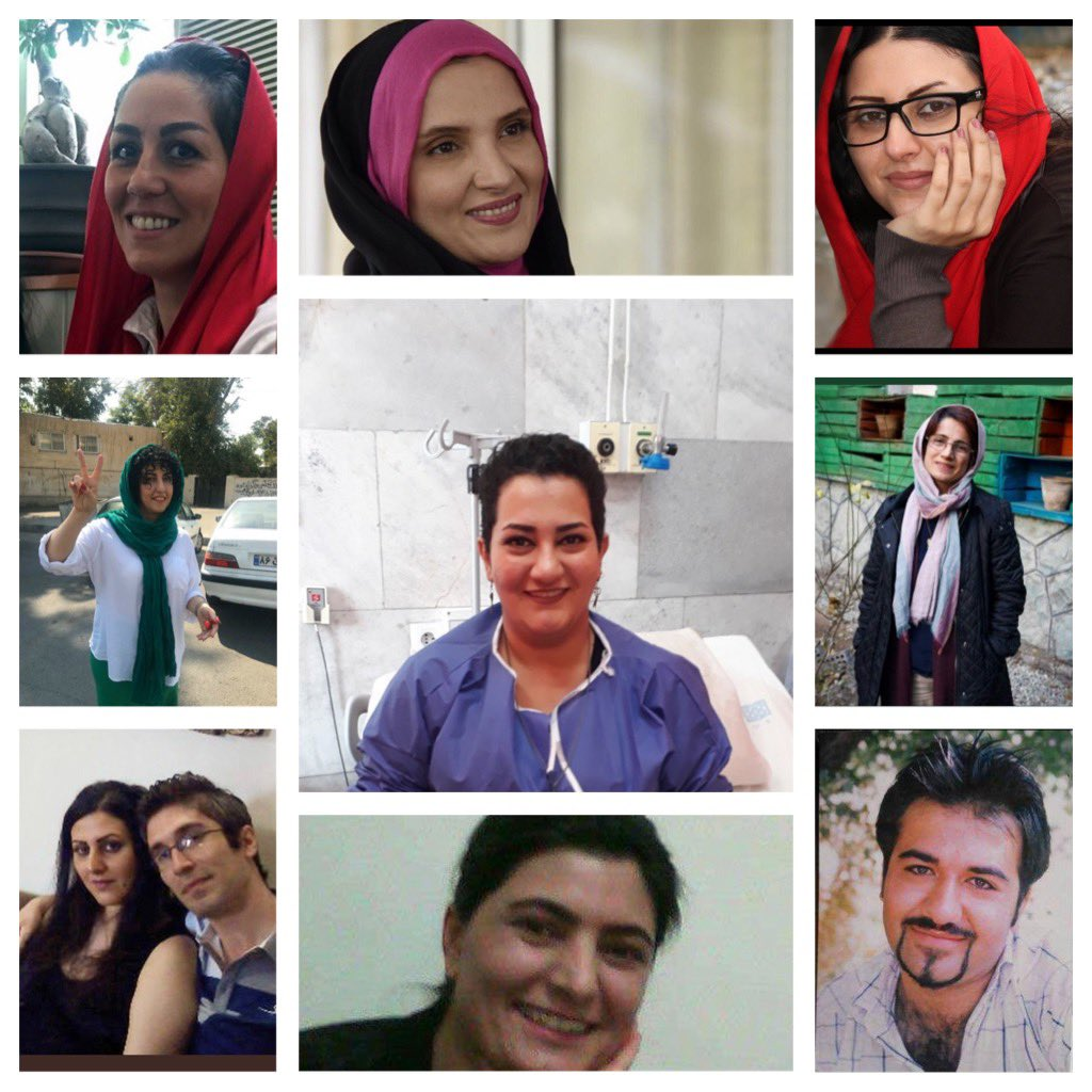 We stand in solidarity with #Iran's political prisoners and prisoners of conscience. We are their voice today.  #FreeIranPoliticalPrisonerspic.twitter.com/VB5SeGgAvN