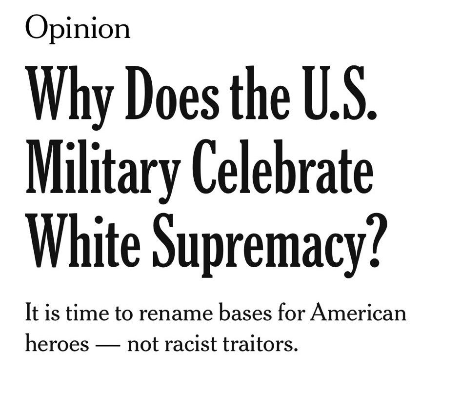 NYT on Memorial Day Weekend: https://t.co/Ahy7Q4b9aB