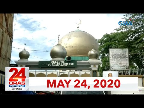 VIDEO: 24 Oras Weekend Express: May 24, 2020 [HD] bit.ly/2WZSZEf
