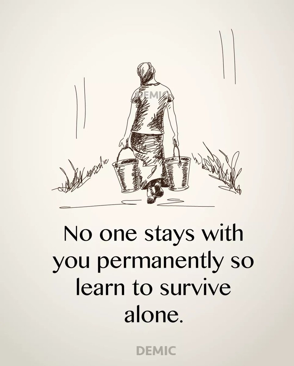 Happy Monday Everyone... Learn to survive alone.  #ADNDailyDoseOfHappy #ALDUBxADNKSWithinReach ctto<br>http://pic.twitter.com/SQ1x07RaQ2