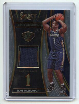 2019-20 Panini Select ZION WILLIAMSON Rookie DRAFT SELECTION JERSEY… http://dlvr.it/RXHD4V #SportsCards #BasketballCards #AffiliateLinkpic.twitter.com/wN4LRP9dGf