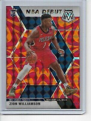 2019-20 MOSAIC NBA ZION WILLIAMSON ROOKIE DEBUT CARD 269 ORANGE PRIZM… http://dlvr.it/RXHD6k #SportsCards #BasketballCards #AffiliateLinkpic.twitter.com/YXKhMBGtLa