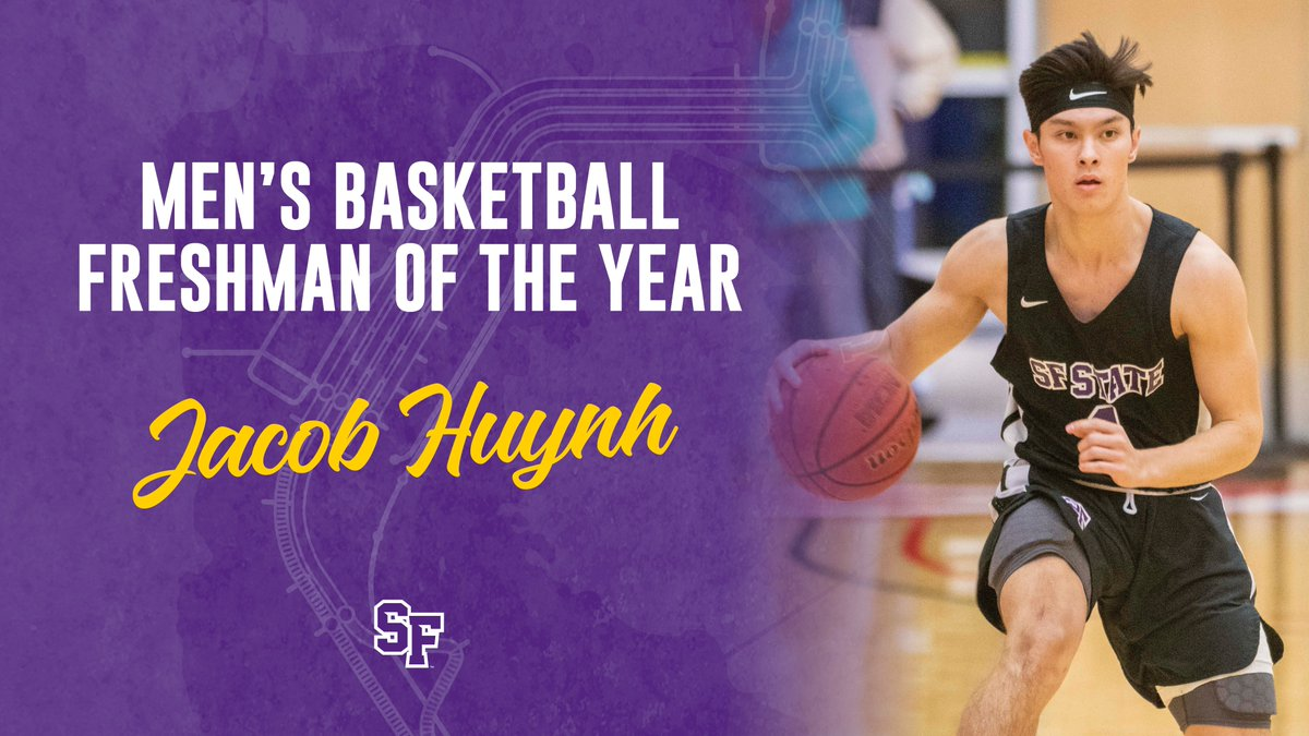 🏀 @sfstate_mbb Freshman of the Year: Jacob Huynh MVP: Linton Acliese III Golden Gator: Sean Orr https://t.co/WUDHqMXelS